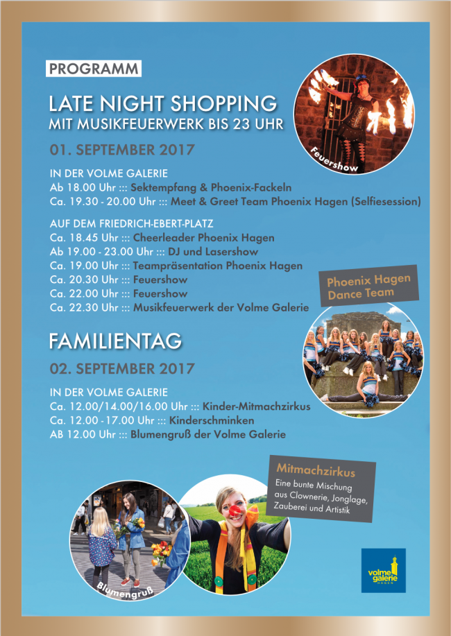 Familientag und Late Night Shopping