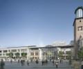 Volme Galerie Hagen präsentiert neue Fassade am ehemaligen Hortengebäude sowie neues Portalgebäude am Eingang Badstraße