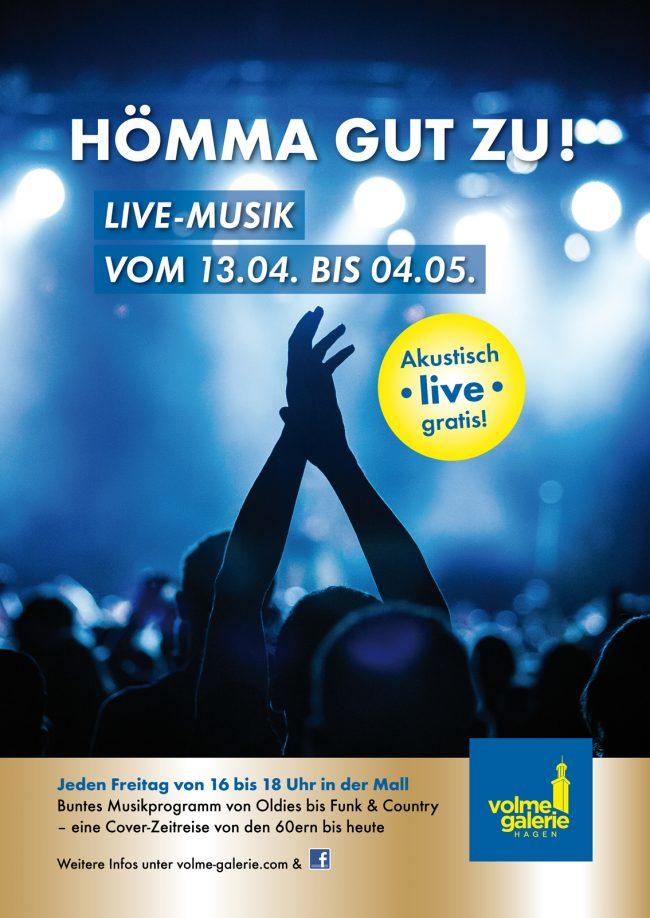 LIVE-Musik in der Volme Galerie Hagen